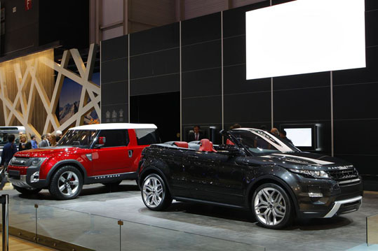 Land Rover Makes A Splash At Geneva Motor Show
