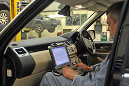Les Potts Inside Land Rover and Range Rover Diagnostic