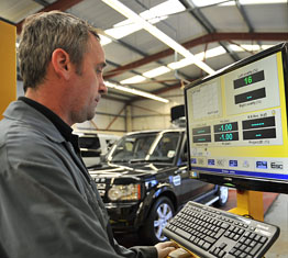 Les Potts Land Rover and Range Rover SPX Diagnostics