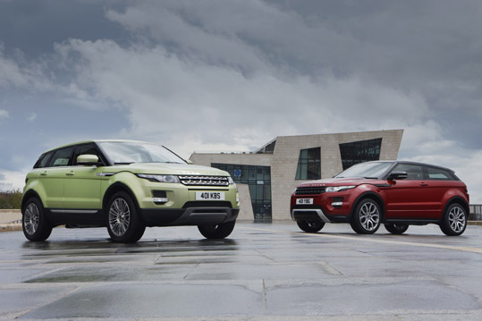 Car Of The Year Honour For Range Rover Evoque As Land Rover Excels In 2012 Diesel Car Awards